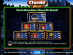 paytable slot machine cluedo classic