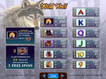 paytable slot machine wild wolf